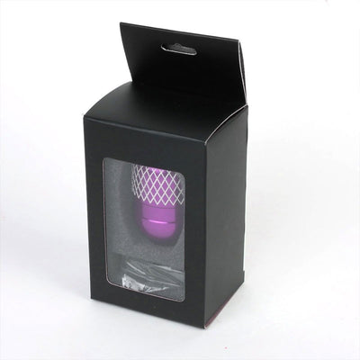 M8/M10/M12 Thread Purple 6-Speed MT Aluminum Netted Design Short Throw Racing Shift Knob+Reverse-Interior-BuildFastCar