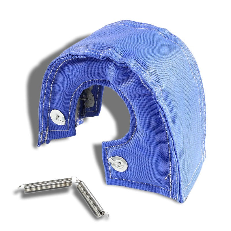 Blue Turbo/Turbocharger Heat Shield/Wrap Blanket for T6 T88 GT55 GT40 HX52 HT60-Performance-BuildFastCar