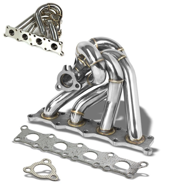 Race SS Chrome K03/K04 Flange Turbo Manifold For 97-06 A4 1.8L DOHC-Performance-BuildFastCar