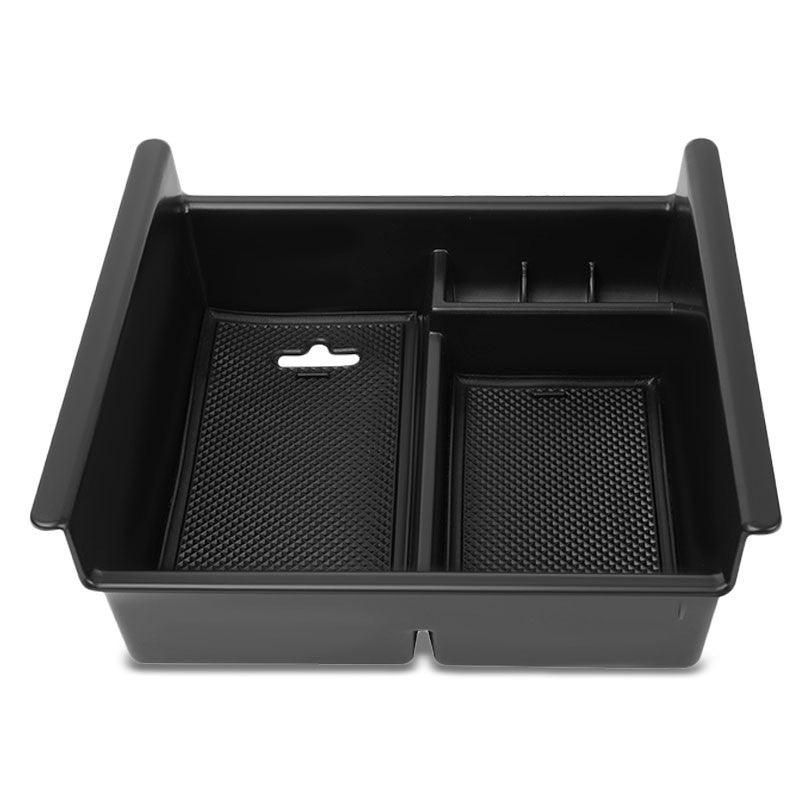 Black Center Console Storage Organizer Top Tray Lid For 10-18 Toyota 4Runner-Interior-BuildFastCar