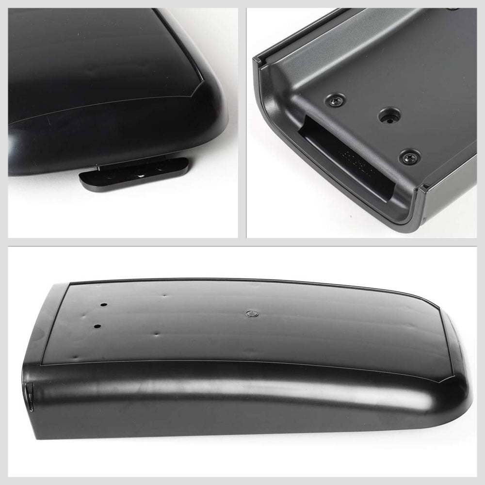 Black Plastic OE Factory Center Console Tray Lid For 02-09 Chevrolet Trailblazer-Consoles & Parts-BuildFastCar