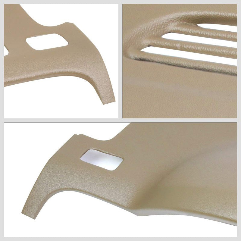 Beige ABS Plastic Dashboard Cover For 07-13 Chevrolet Silverado 1500/2500 HD