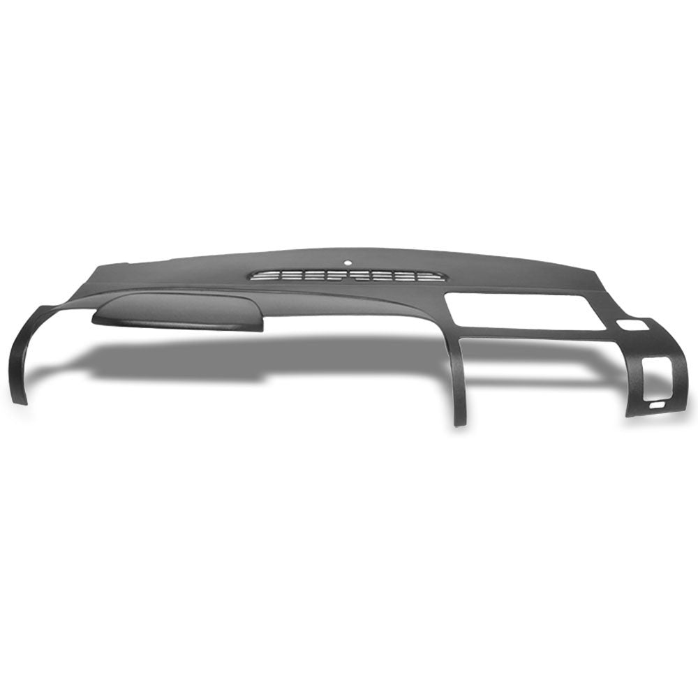 Black Plastic Overlay Dashboard Cover For 07-13 Silverado 1500/2500 HD/3500 HD