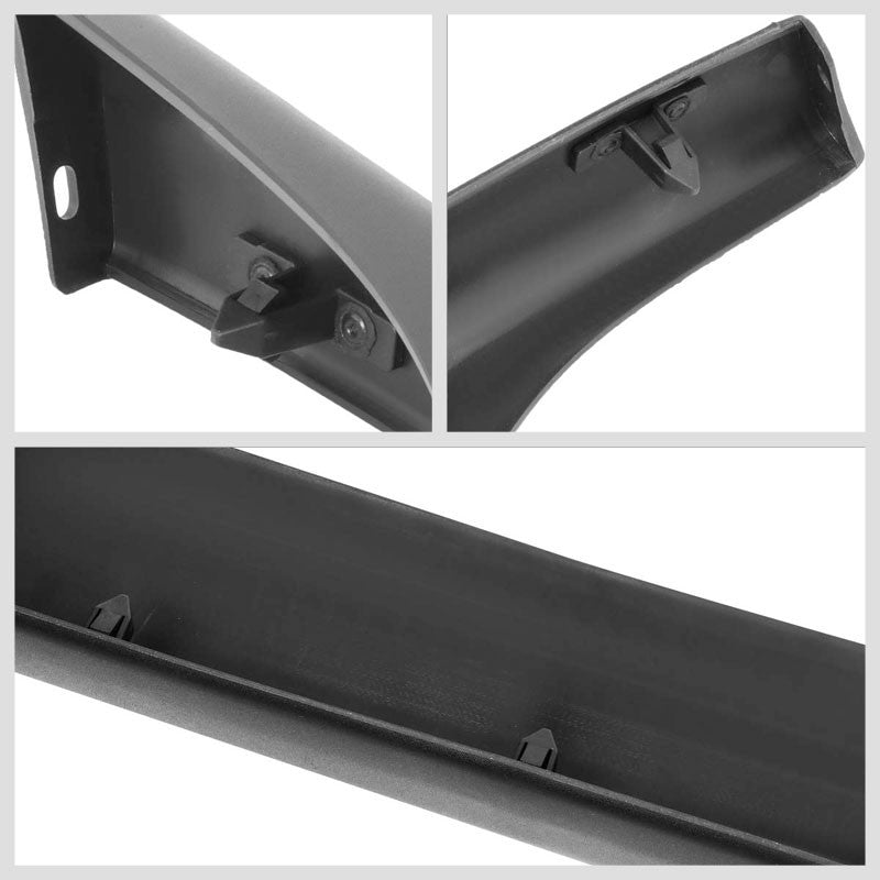 Matte Black Poly Urethane Air Dam Bumper Lip For 94-02 Dodge Ram 1500/2500/3500-Body Hardware/Replacement-BuildFastCar