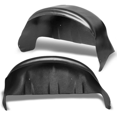 2PCS Rear  Fender Liner Wheel Well Guard Covers Mud Flap For 17-21 Ford F250 SD