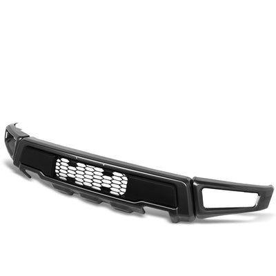 Raptor Style Steel Powdercoat Black Front Lower Bumper Bar For 15-18 Ford F-150