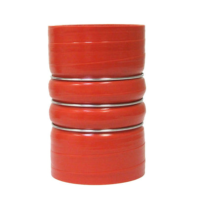 "HPS Orange 3"" (76mm) 4-ply Silicone Charge Air Cooler CAC Coupler Hose 7""-Performance-BuildFastCar"