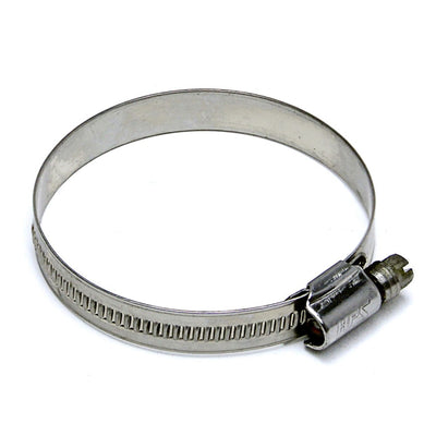 "10x HPS 7/8"" - 1-1/4"" (22mm - 32mm) Stainless Steel Embossed Hose Clamps SAE 12-Performance-BuildFastCar"