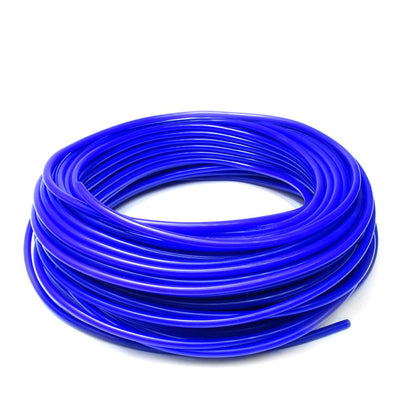 "HPS 50-Feet Blue 5/16"" (8mm) High Temp Silicone Vacuum Hose Valve Engine Turbo-Performance-BuildFastCar"