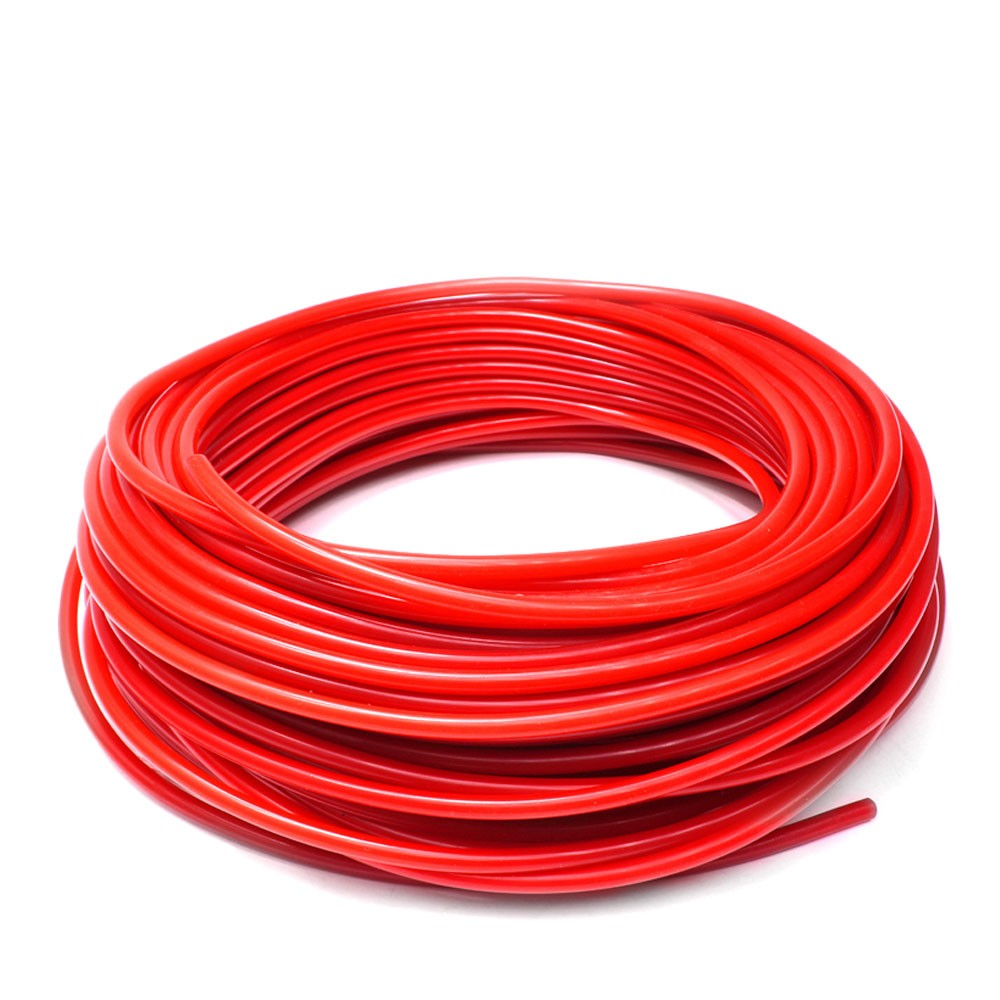 3mm Red Universal Silicone Air Vacuum Hose//Line//Pipe//Tube 1 Foot 1//8