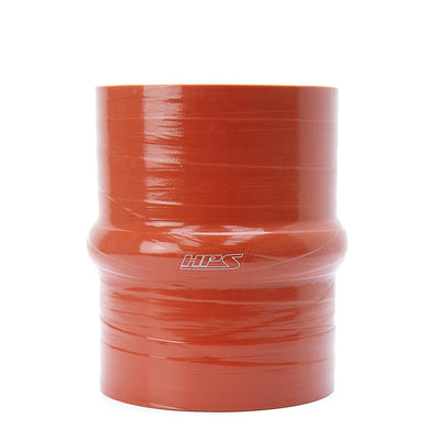 "HPS 2.75"" (70mm) ID Orange 4-Ply Aramid Silicone Hump Coupler Hose 6""Length"