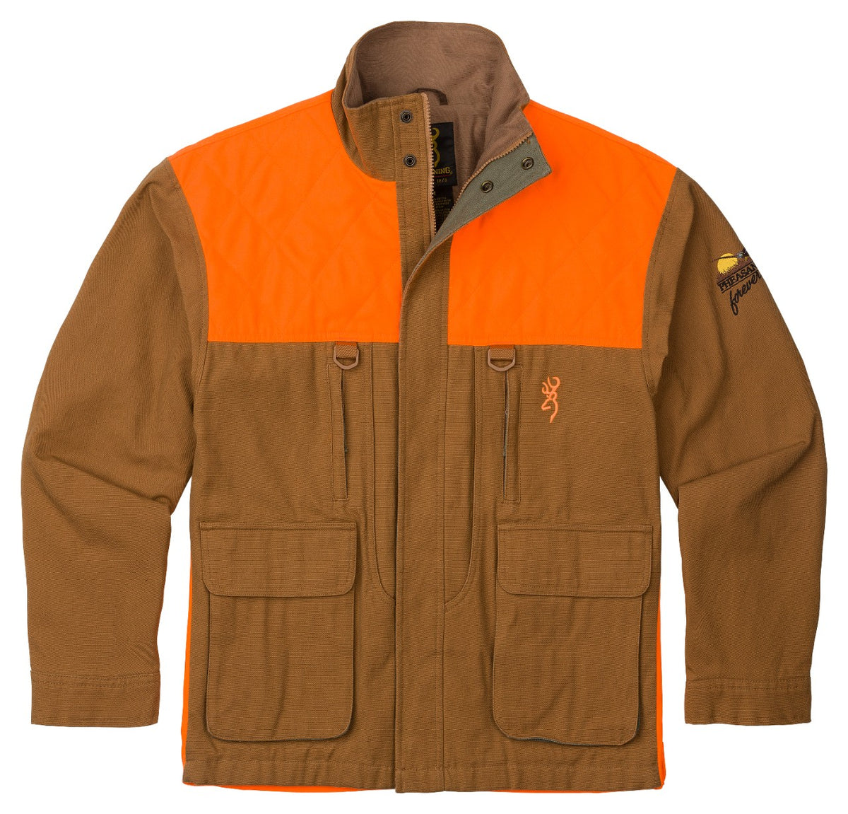 Pheasants Forever Jacket with embroidered Pheasants Forever Logo