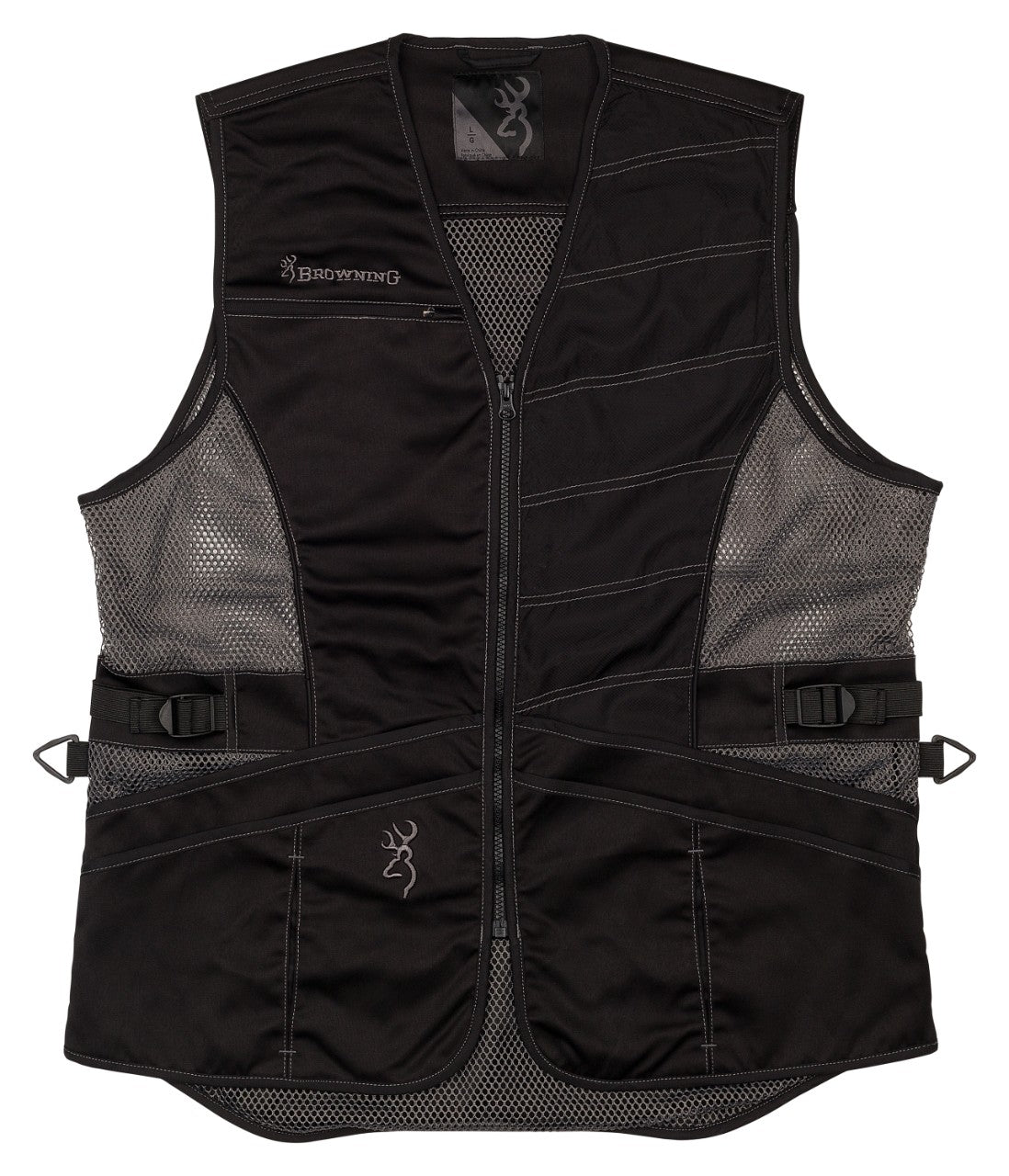 VST,ACE LH,BLACK/BLACK,2XL