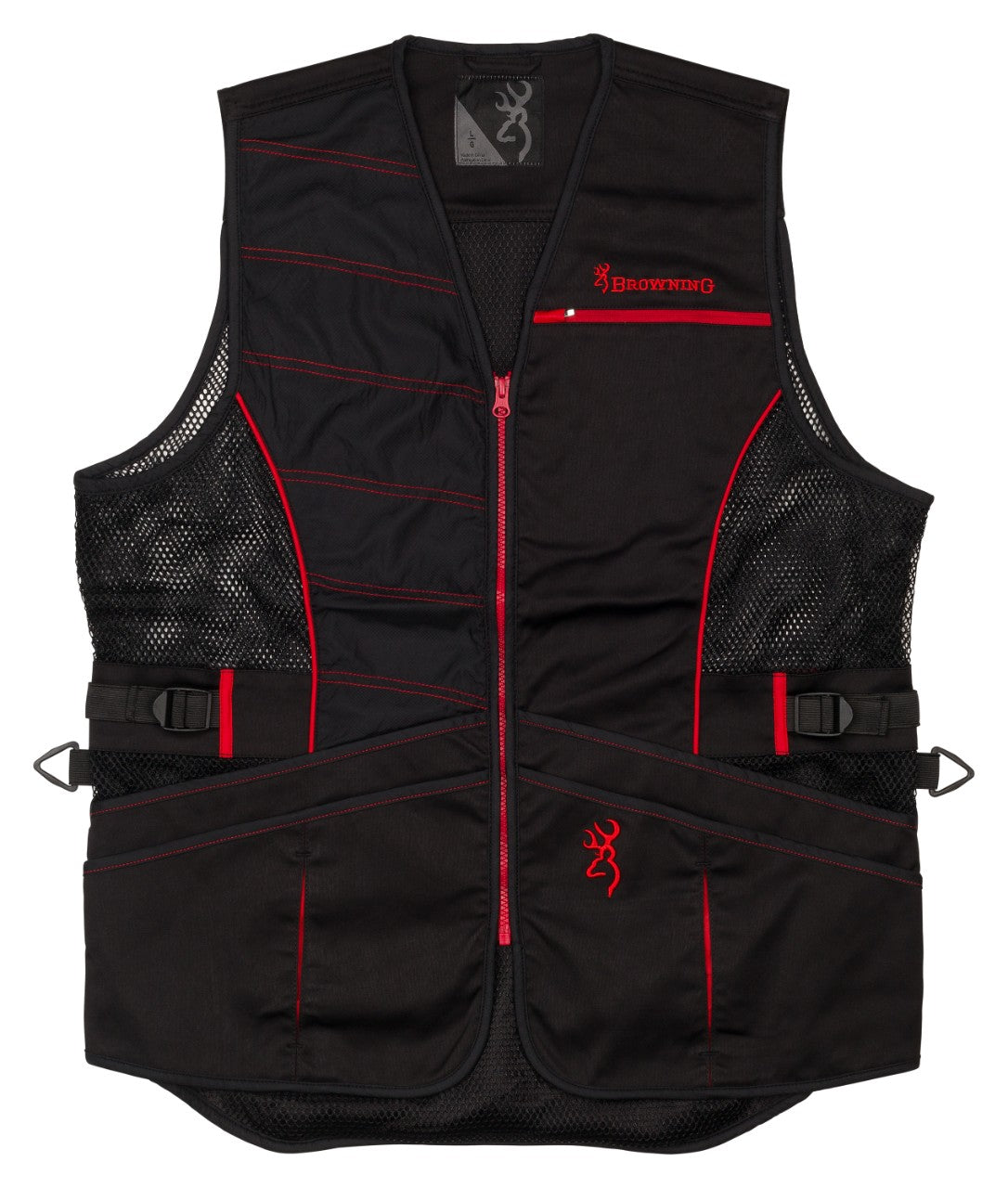 VST ACE SHOOTING BLACK/RED,XL