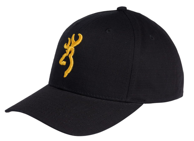 CAP, BLACK AND GOLD