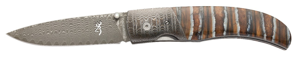 Damascus Folder, Mammoth Tooth