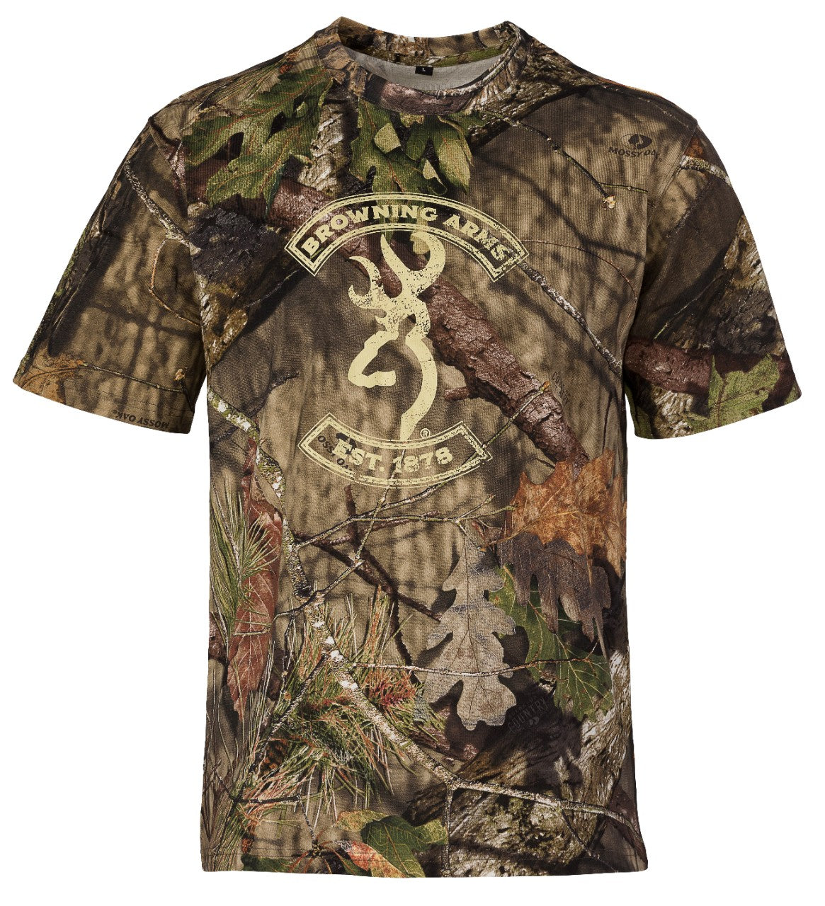 Graphic T - Buckmark/Mossy Oak Break-Up Country