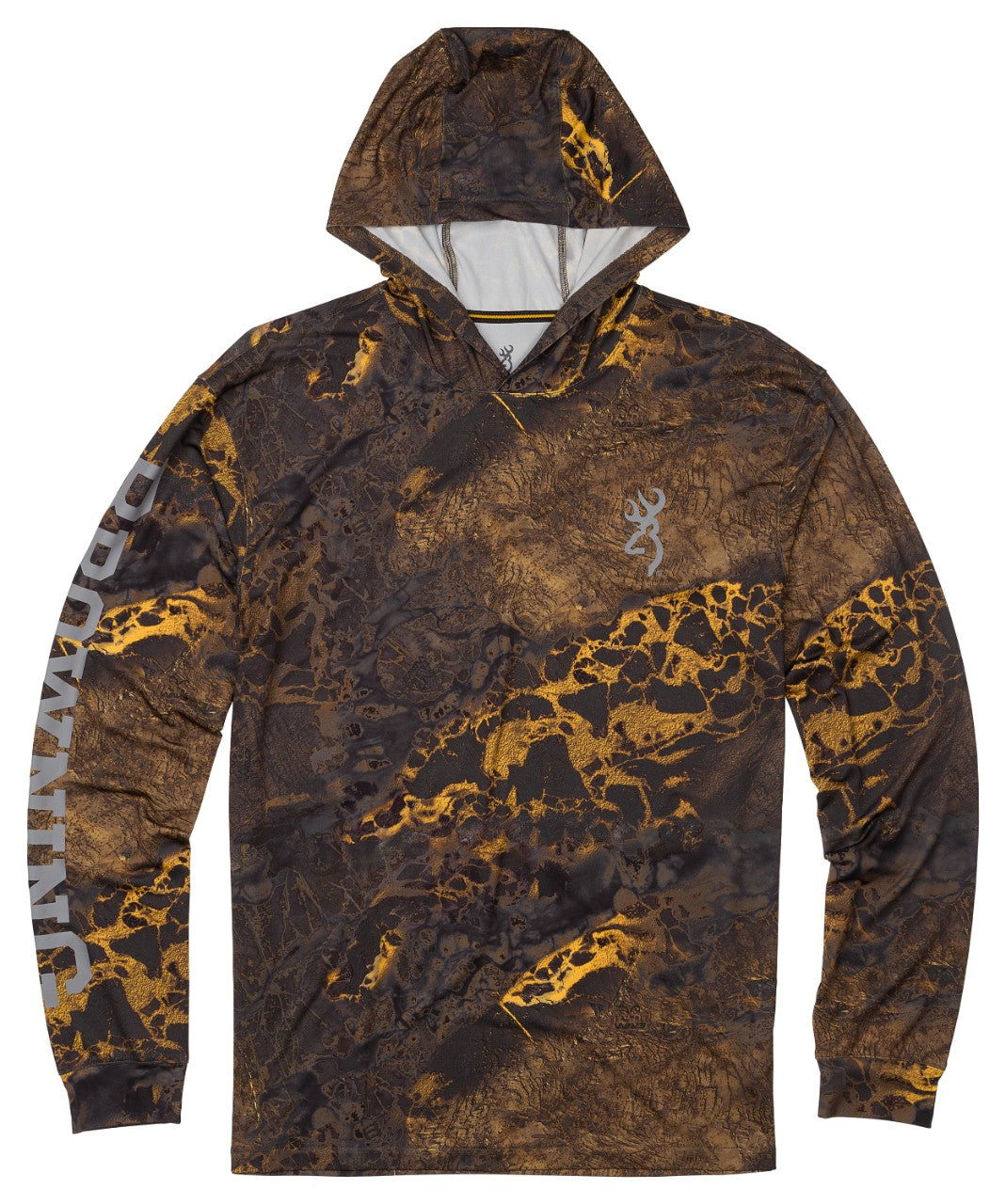 SHT,HOODED,LS,TECH,RTW3 GOLD,L