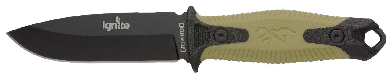 KNIFE, IGNITE 2 OD GREEN BOXED
