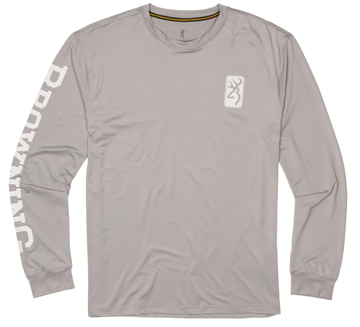 SHT,SUN,LS,LT GREY,BROWNING,2XL