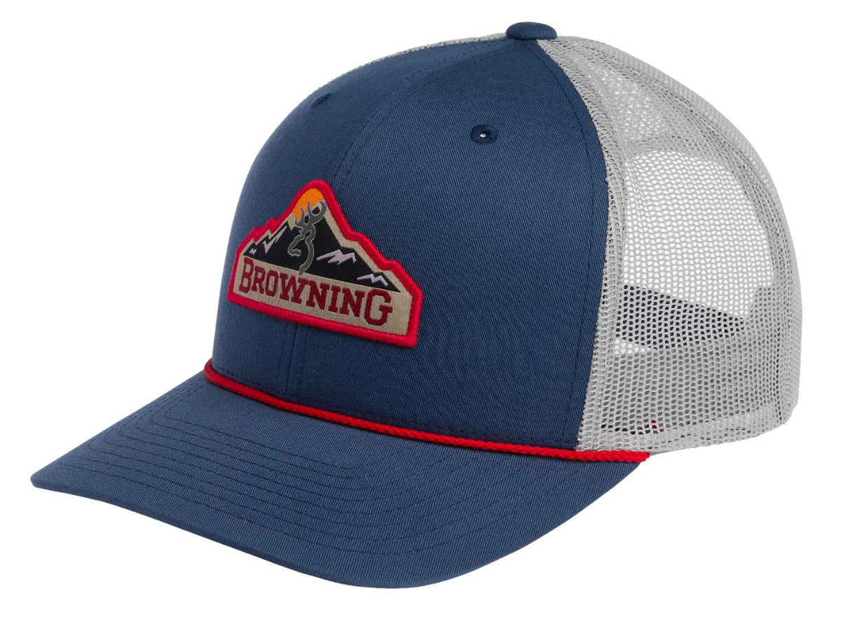CAP, MTN PATCH BLUE