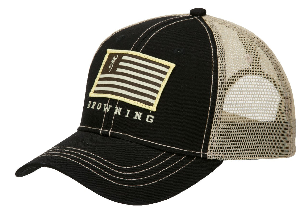 CAP,PATRIOT BLACK/TAN
