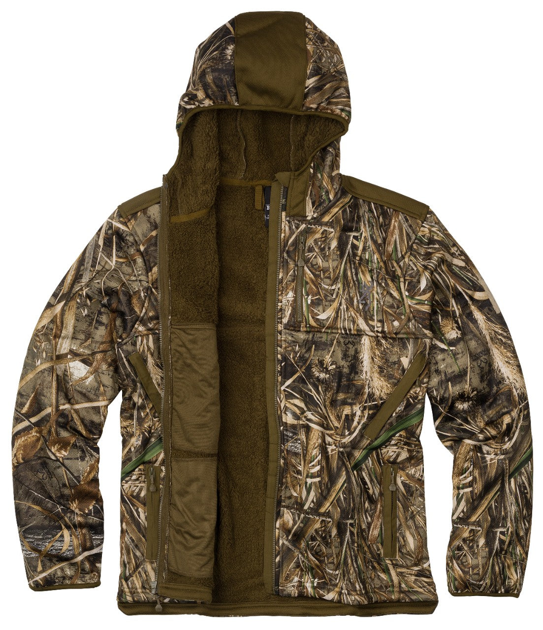 Wicked Wing High Pile Hooded Jacket