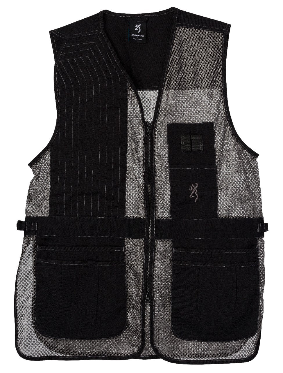 VEST,TRAPPER CREEK BLK/GRAY ,3XL