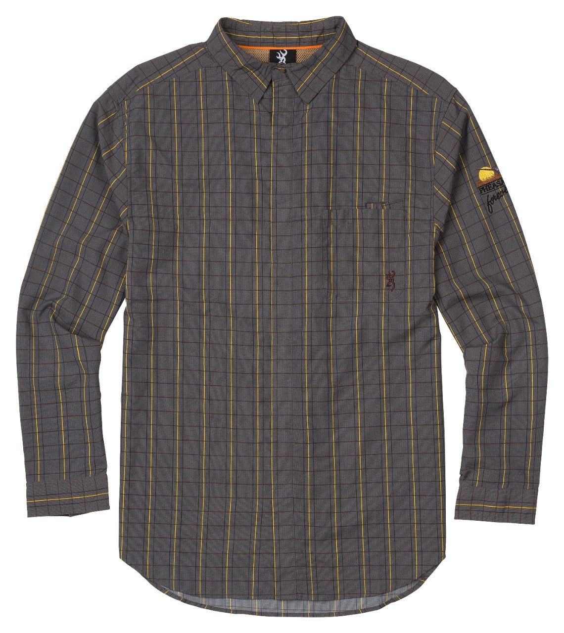 SHT,LIGHTWEIGHT,PF,PLAID,2XL