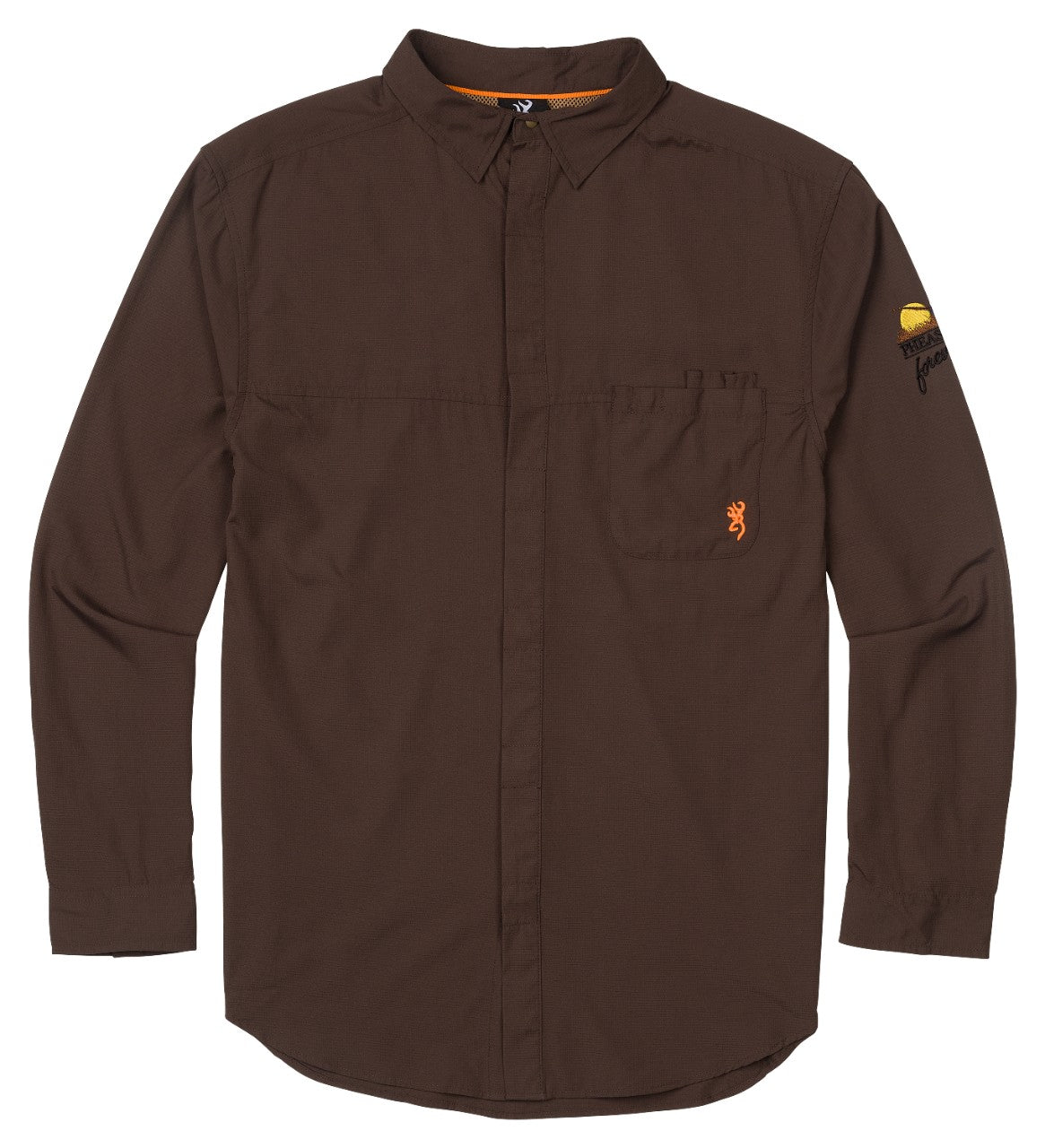 Lightweight Shirt - Embroidered Pheasants Forever Logo