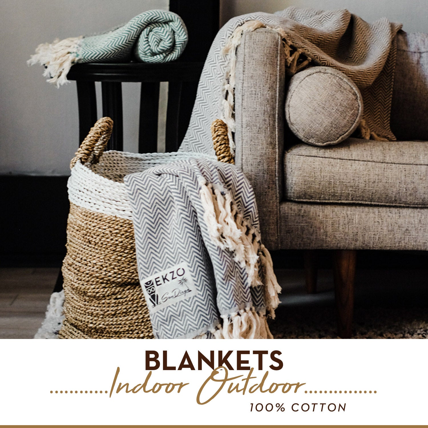 Indoor ourdoor blanket