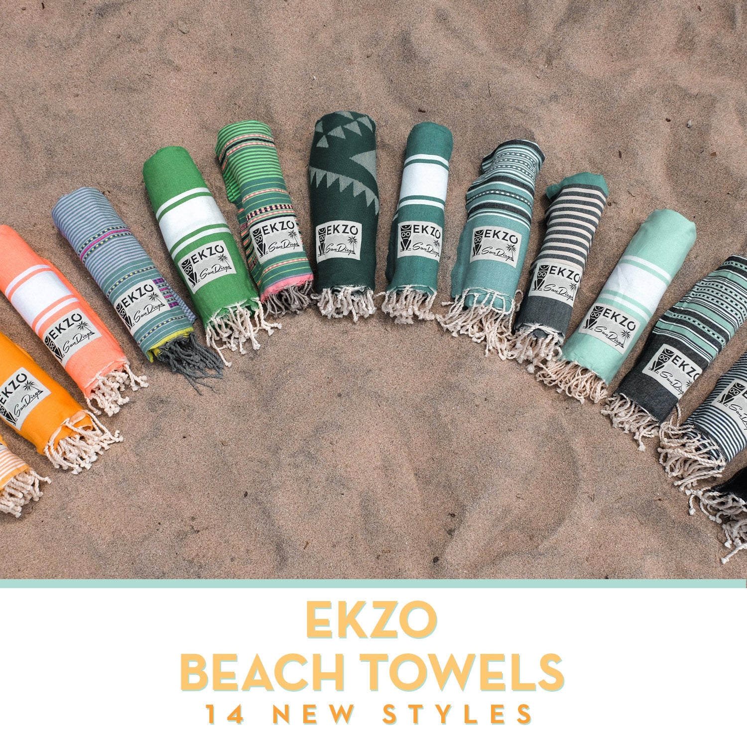 EKZO Beach Towel