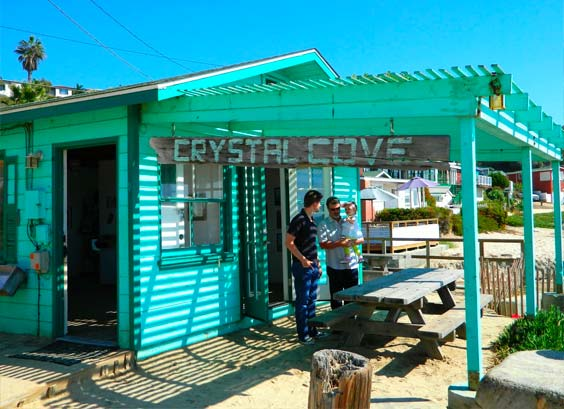The store at the Crystal Cove