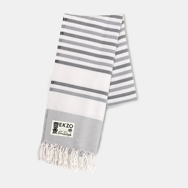 Shades of Gray - Beach Towel - EKZO