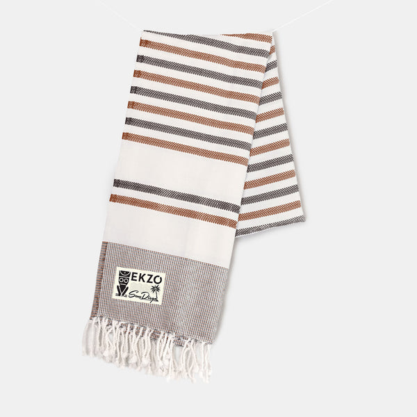 Shades of Café - Beach Towel