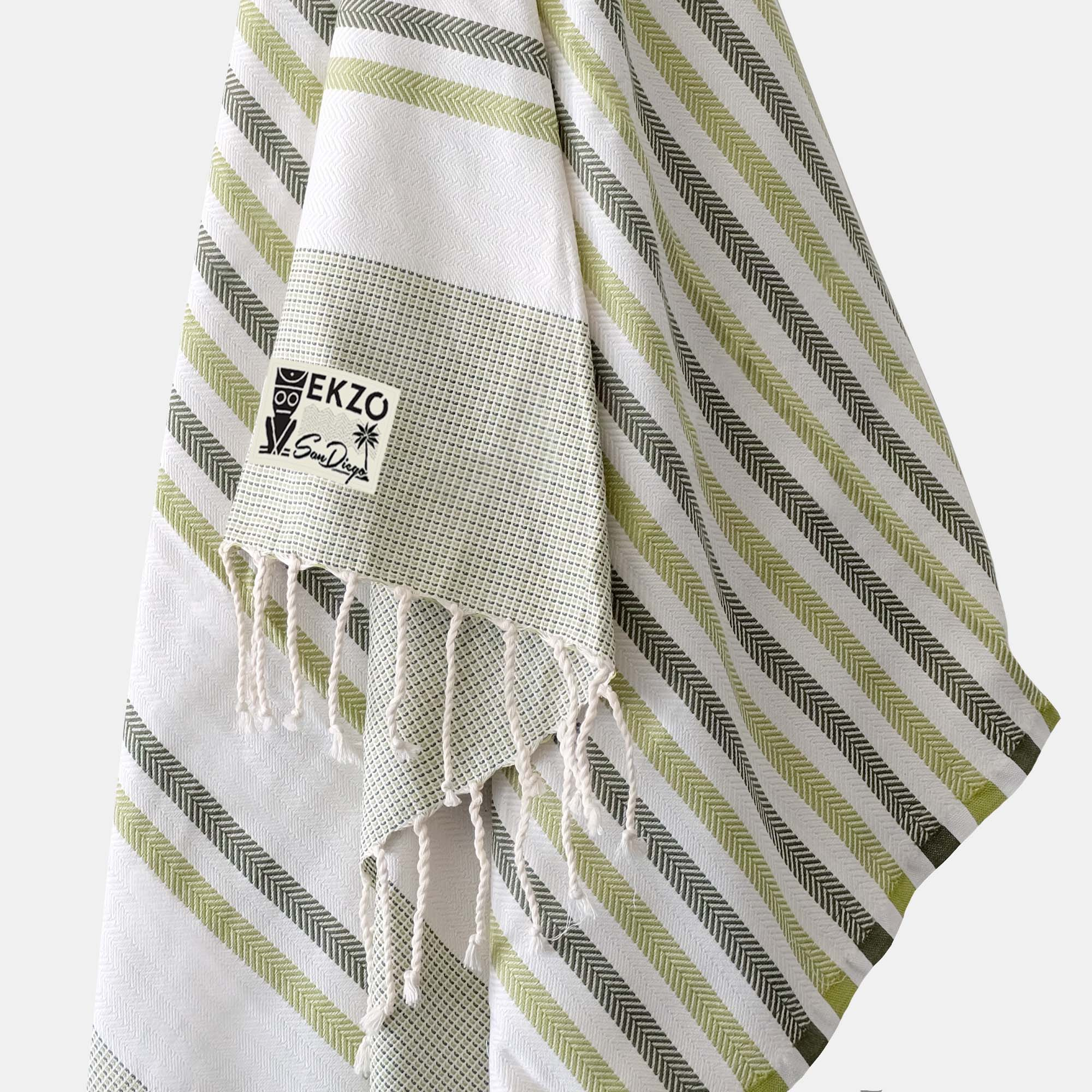 Shades of Green - Beach Towel - EKZO