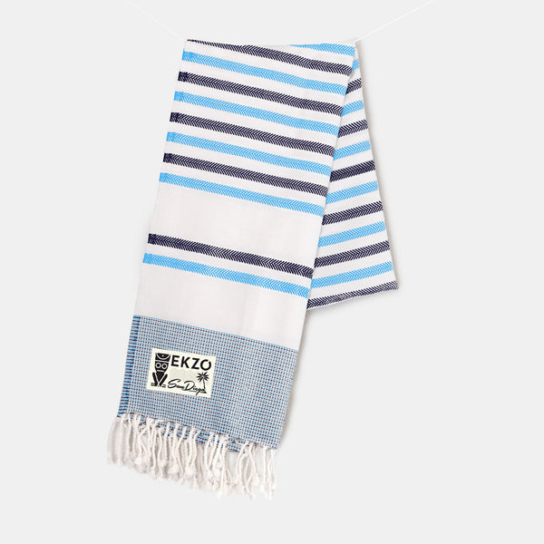 Shades of Blue - Beach Towel - EKZO