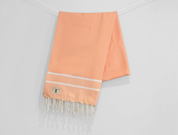 Coral Salmon - Beach Towel