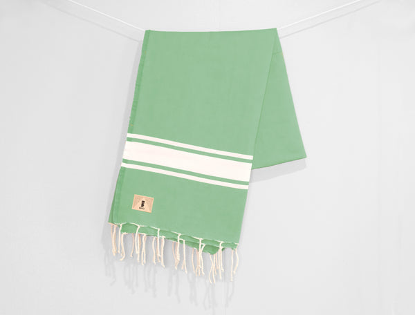 Smoky Green - Beach Towel