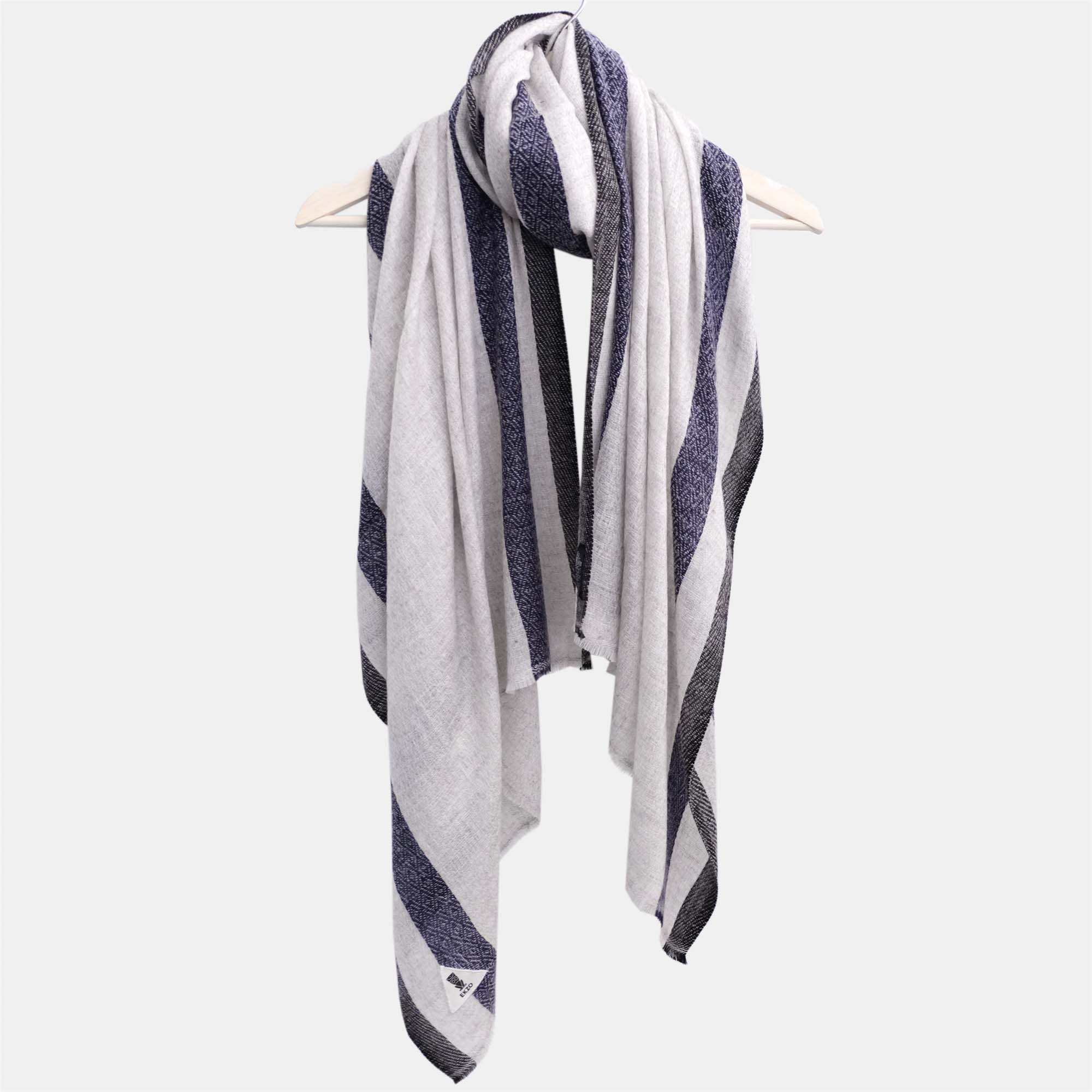 Scarf - Blue VS Black - EKZO