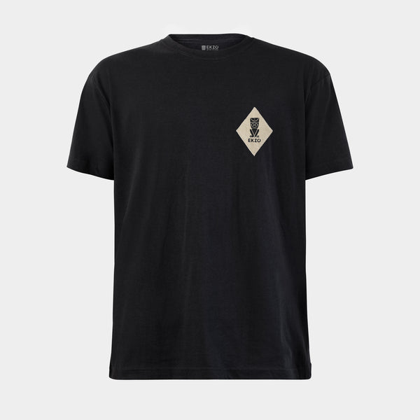 Diamond Patch Tee -  Black Soul - EKZO