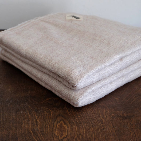 Blanket Cashmere - Oatmeal Eye