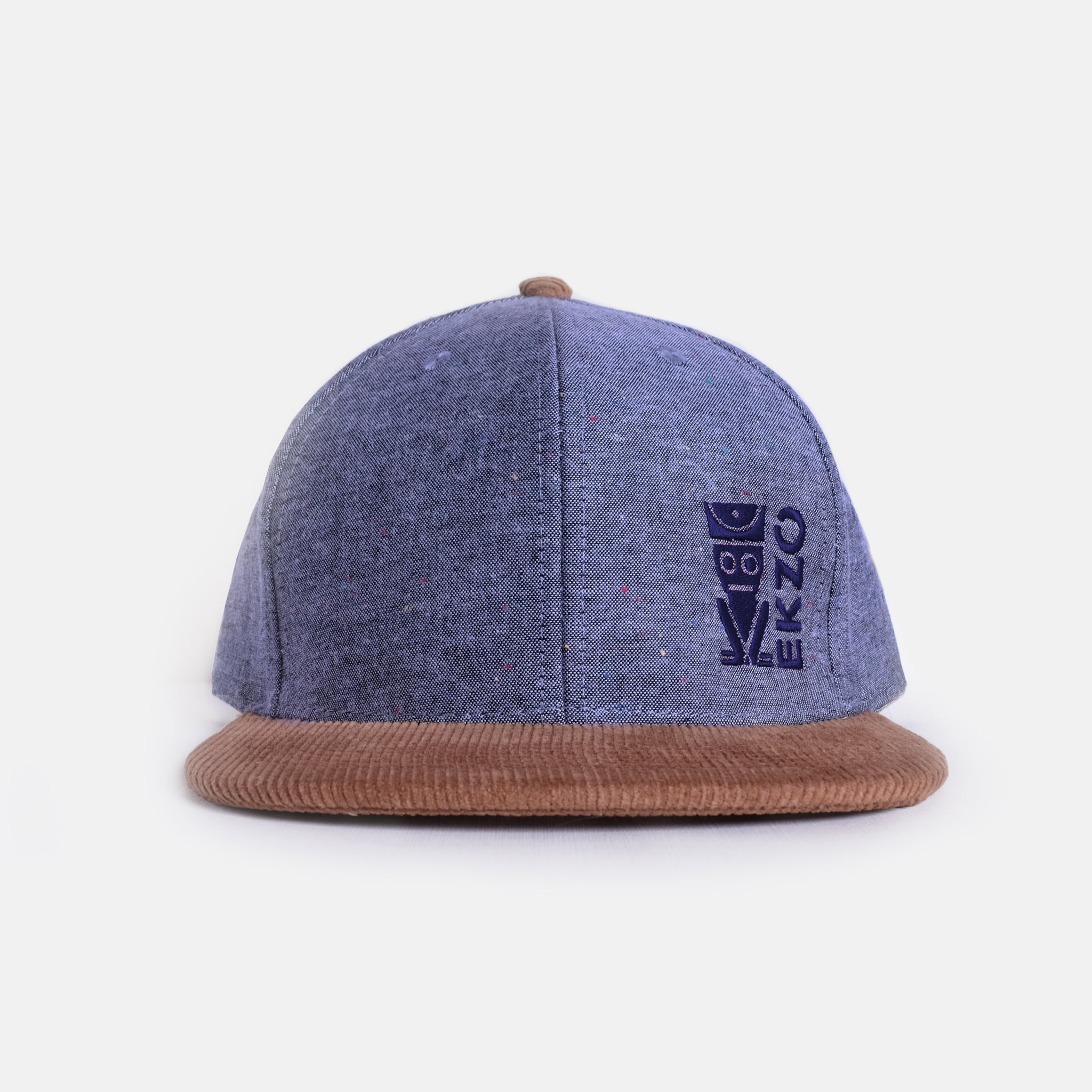 Corduroy Hat - Denim - EKZO