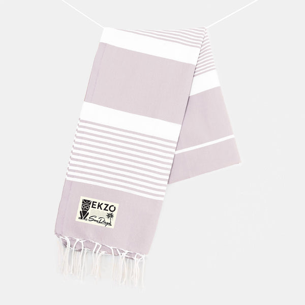Light Lila - Beach Towel - EKZO