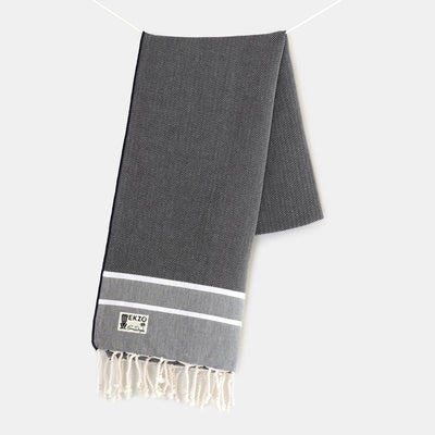 Black Deco - Beach Towel - EKZO