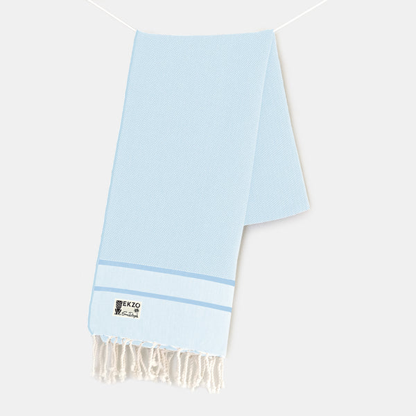 Blue Skies - Beach Towel - EKZO