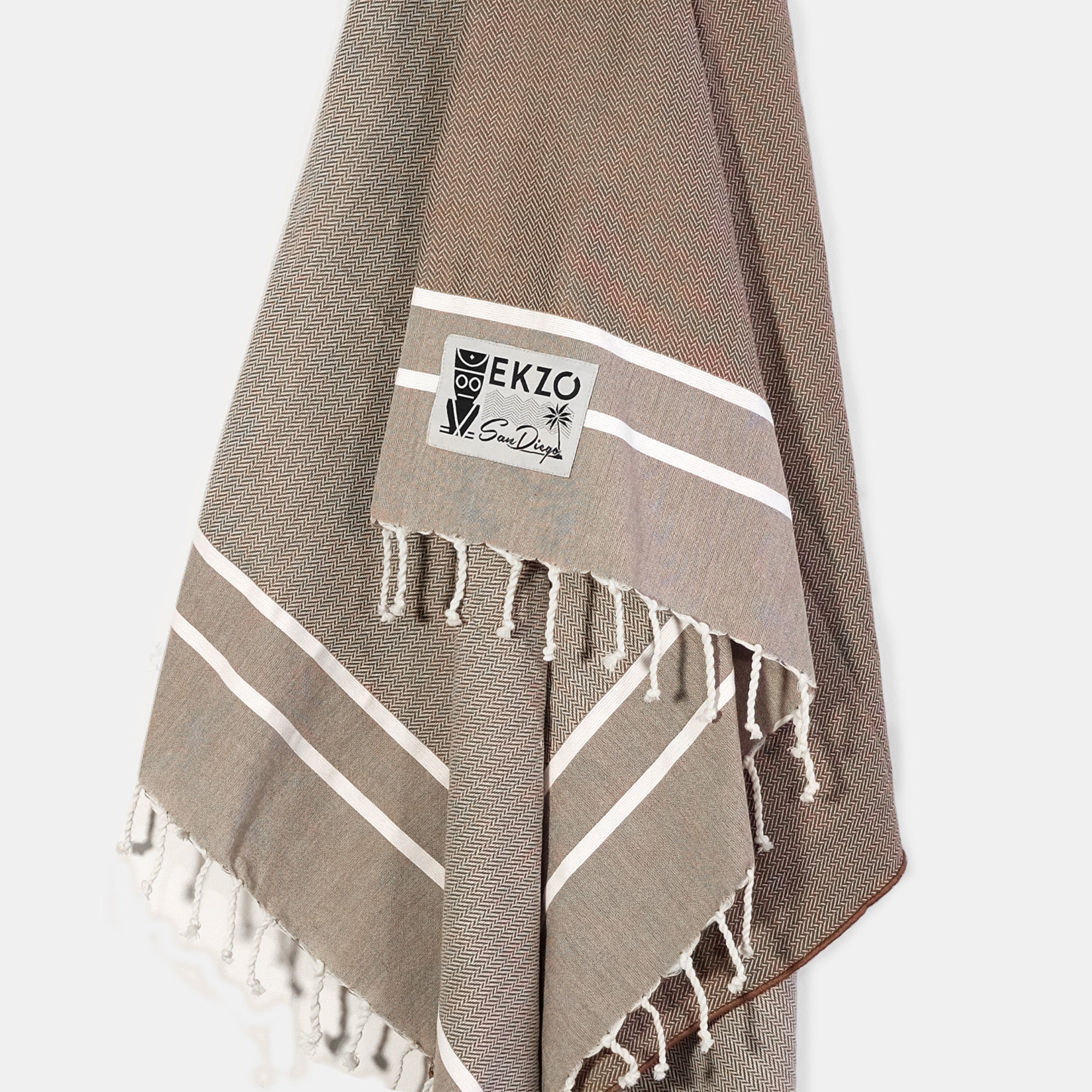 Brown - Beach Towel