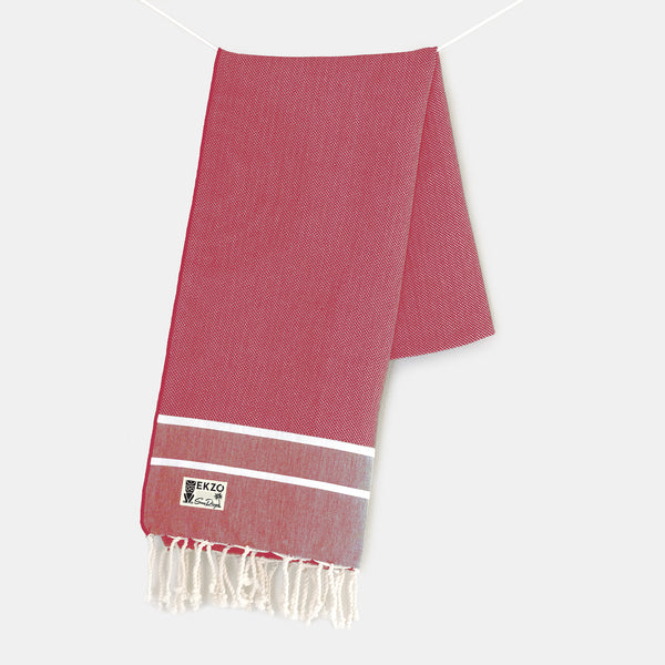 Crimson - Beach Towel