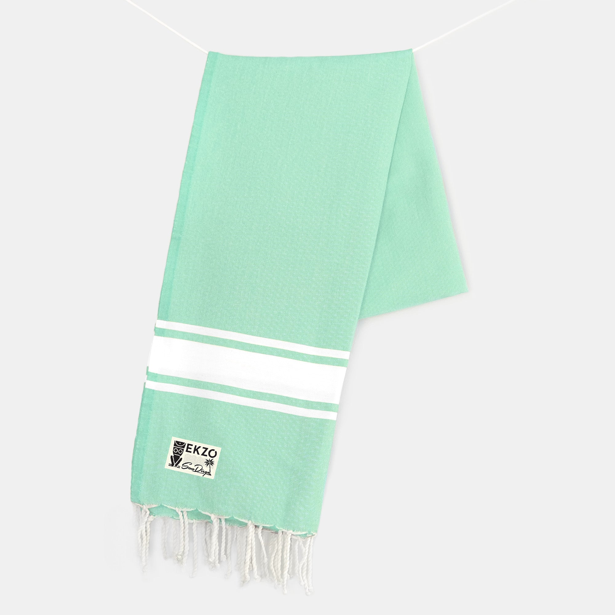 Electric Green - Beach Towel