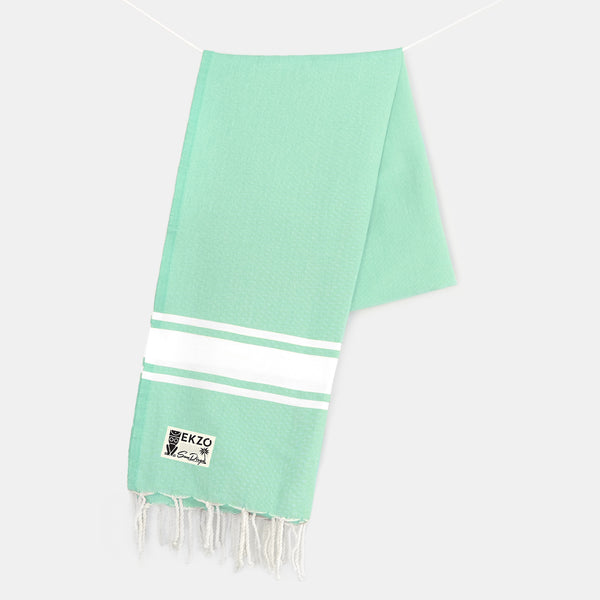 Electric Green - Beach Towel - EKZO